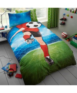 Children's single bedding set FOOTBALL PANEL 137x200