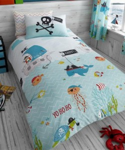 Children's single bedding set THE SEA ROTARY 137x200