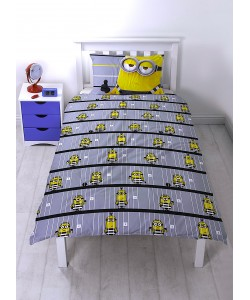 Children's single bedding set DESPICABLE ME 3 JAILBIRD REVERSIBLE 135x200