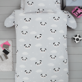 Children's single bedding set PANDA 137x200