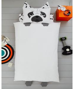 Children's single bedding set DOG 137x200