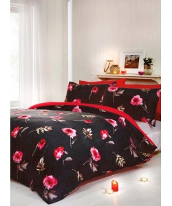Double duvet set DARCY RED 200x200