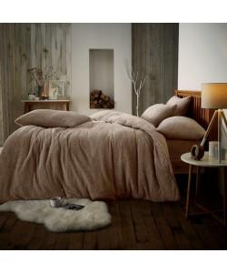 Double Microplush Comforter Set SOFT TEDDY FEEL MINK 200x200