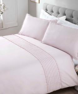 Cotton bedding POM POM BLUSH 200x200