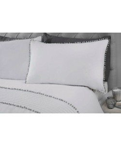 Cotton bedding POM POM WHITE 200x200