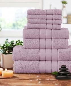 Luxury 8 pcs Towel Bale Set BLUSH