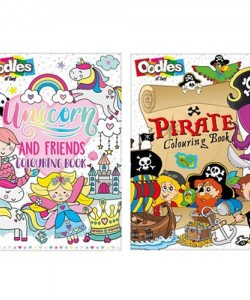 Two Assorted Colouring Books