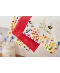Kitchen towels BEE HAPPY 45x65 3 PCs