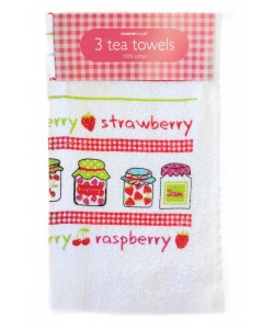 Kitchen towels FRUITY JAM 36x62 3 PCs