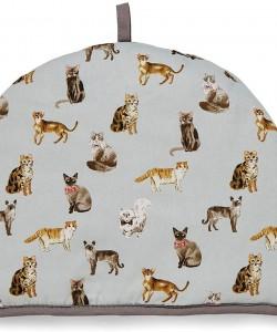 Tea Cosy CURIOUS CATS 35 x 27 cm