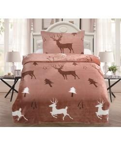 Microplush Comforter Set DEER 140x200