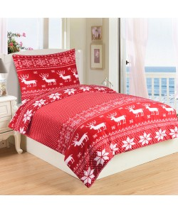 Microplush Comforter Set SOB RED 140x200