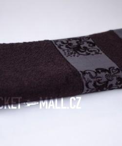 Soft bamboo bath towel ANKARA brown 70x140