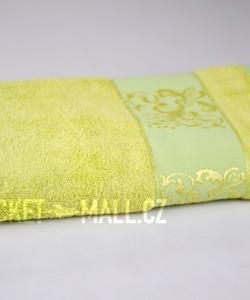 Soft bamboo bath towel ANKARA light green 70x140