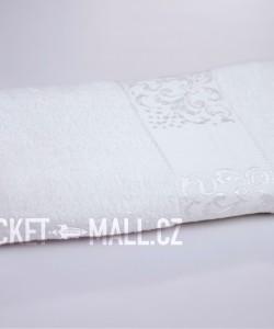Soft bamboo bath towel ANKARA white 70x140