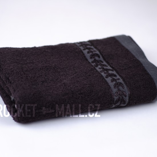 Soft bamboo hand towel ANKARA brown 50x100