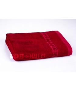 Soft bamboo hand towel ANKARA burgundy 50x100