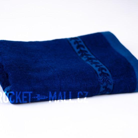 Soft bamboo hand towel ANKARA dark blue 50x100
