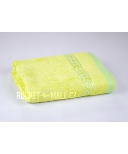 Soft bamboo hand towel ANKARA light green 50x100