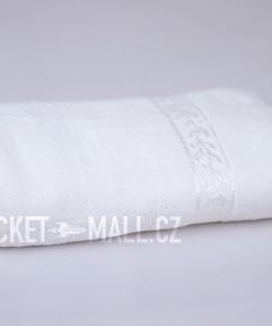 Soft bamboo hand towel ANKARA white 50x100