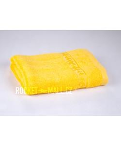Soft bamboo hand towel ANKARA yellow 50x100