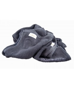 Terry bath towel and hand towel set Florina GREY 70x140 + 50x100
