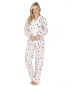 Ladies Comfy Pyjama Set FLOWER