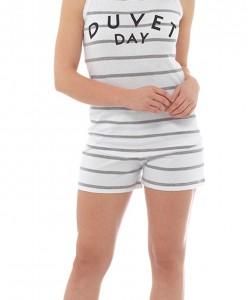 Ladies Summer Short Pyjamas Set DUVET DAY