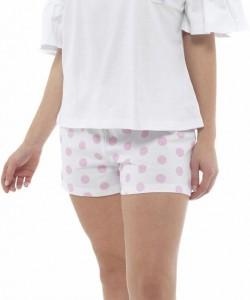 Ladies Summer Short Pyjamas Set TEA CUP KITTY