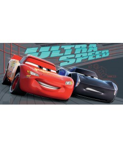 Childrens CARS ULTRA SPEED 70x140